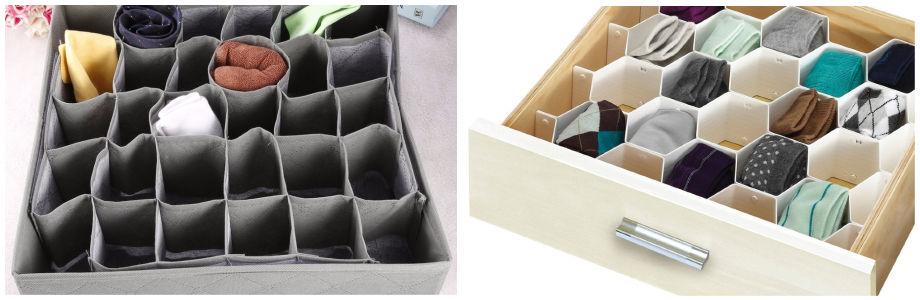 Правильное и удобное хранение нижнего белья в шкафу: правила и методы
