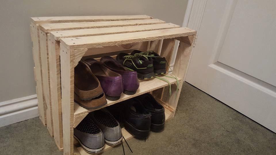 Как сделать шкаф для обуви своими руками из подручных материалов