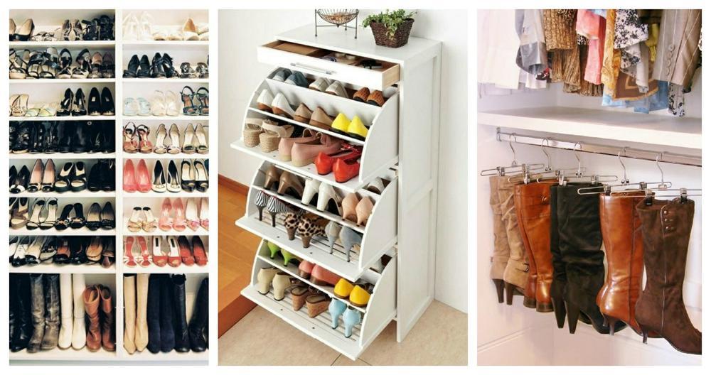 e604d8cd255a Как хранить обувь в шкафу: способы компактной укладки