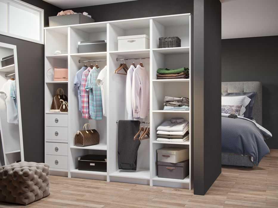 Обзор шкафов для белья: с полками, распашные, купе в спальню и гостиную