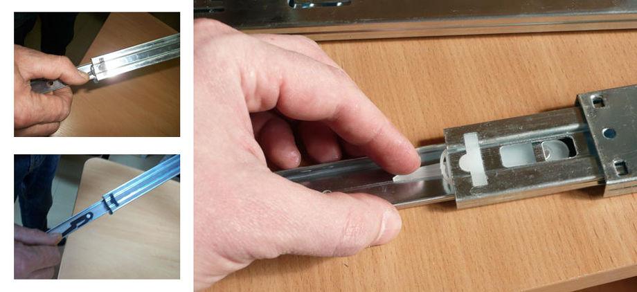 Как легко вытащить бутылочницу из кухонного шкафа?
