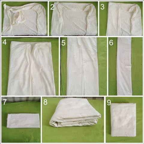 Удобное и компактное хранение постельного белья в шкафу: правила и методы