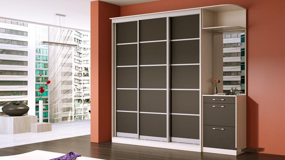 Как выбрать узкий шкаф-купе в спальню, гостиную или коридор: встроенный или корпусный