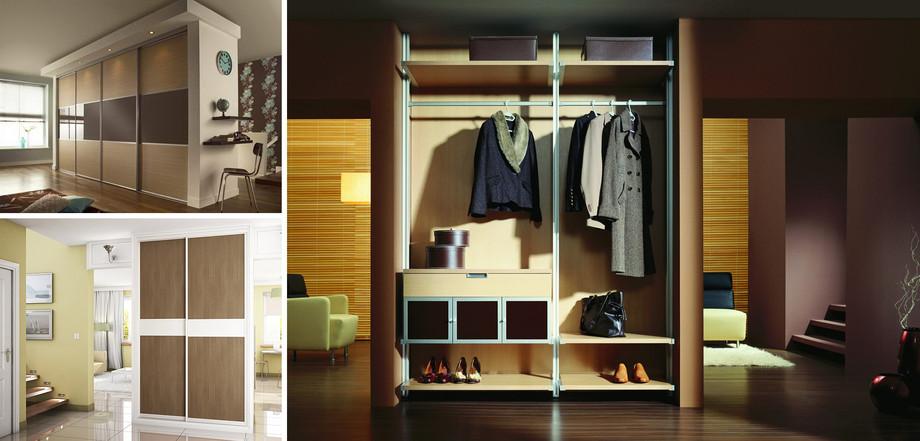 Современный дизайн шкафов купе: лучшие идеи с фотографиями