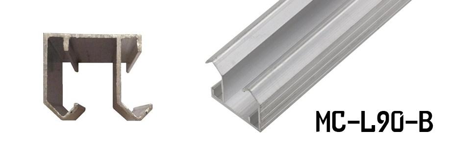 Нижняя и верхняя направляющая шкафа-купе: как выбрать и установить рельсы