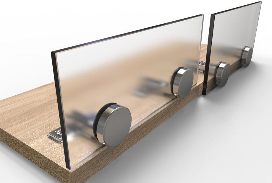 Какие бывают петли для стеклянных дверей в мебели: со сверлением и зажимные