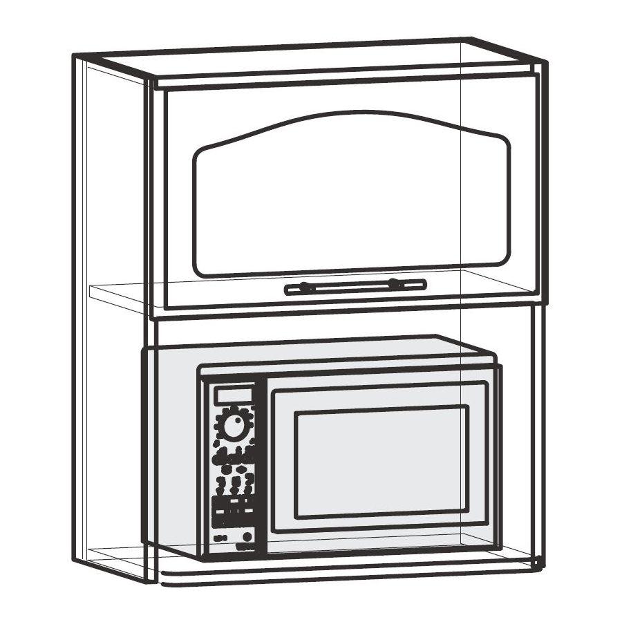Шкаф под СВЧ: как выбрать, купить или сделать своими руками