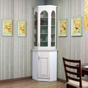 Как выбрать угловой шкаф для посуды с сушилкой на кухню и в гостиную?