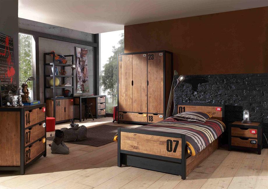 Как выбрать шкаф в стиле лофт: характеристики, размеры, размещение