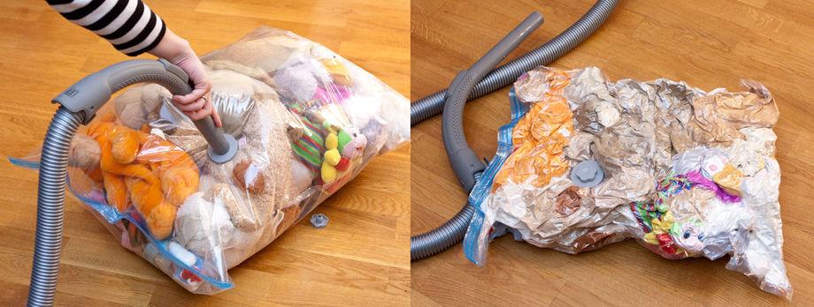 Запаковка в вакуумный мешок