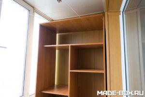 Установка верхней части шкафа