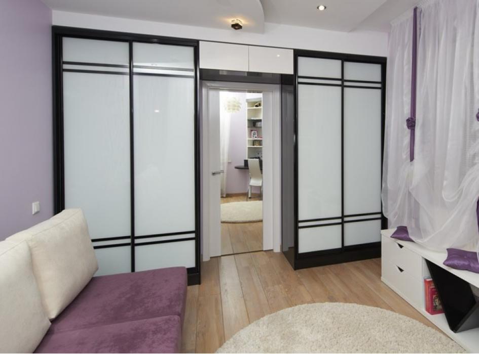 Шкаф в японском стиле