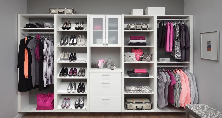 Шкаф-купе в спальню – внутреннее наполнение с размерами и фотографиями
