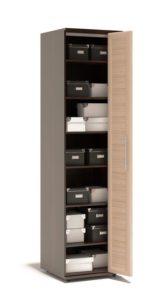 Шкаф гармошка со складными дверями: механизмы, фасады и ручки