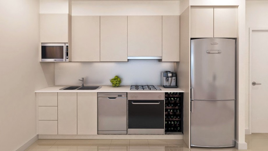 Кухня со встроенной техникой