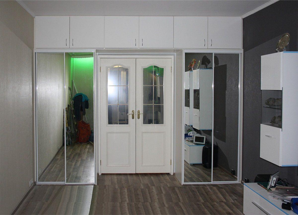 Шкаф вокруг дверного проема фото
