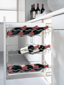 Полки для винных бутылок