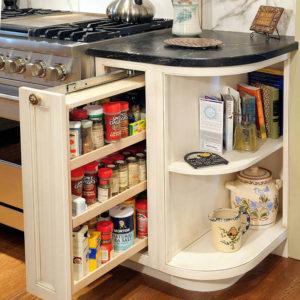 Деревянное карго для кухни