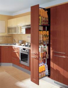 Высокое карго в кухне