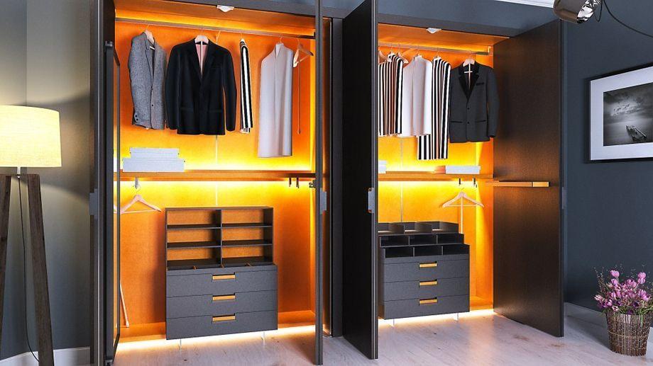 Как сделать встроенный шкаф в спальню своими руками: пошаговое руководство