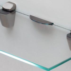 Подсветка полки из стекла в клипсе